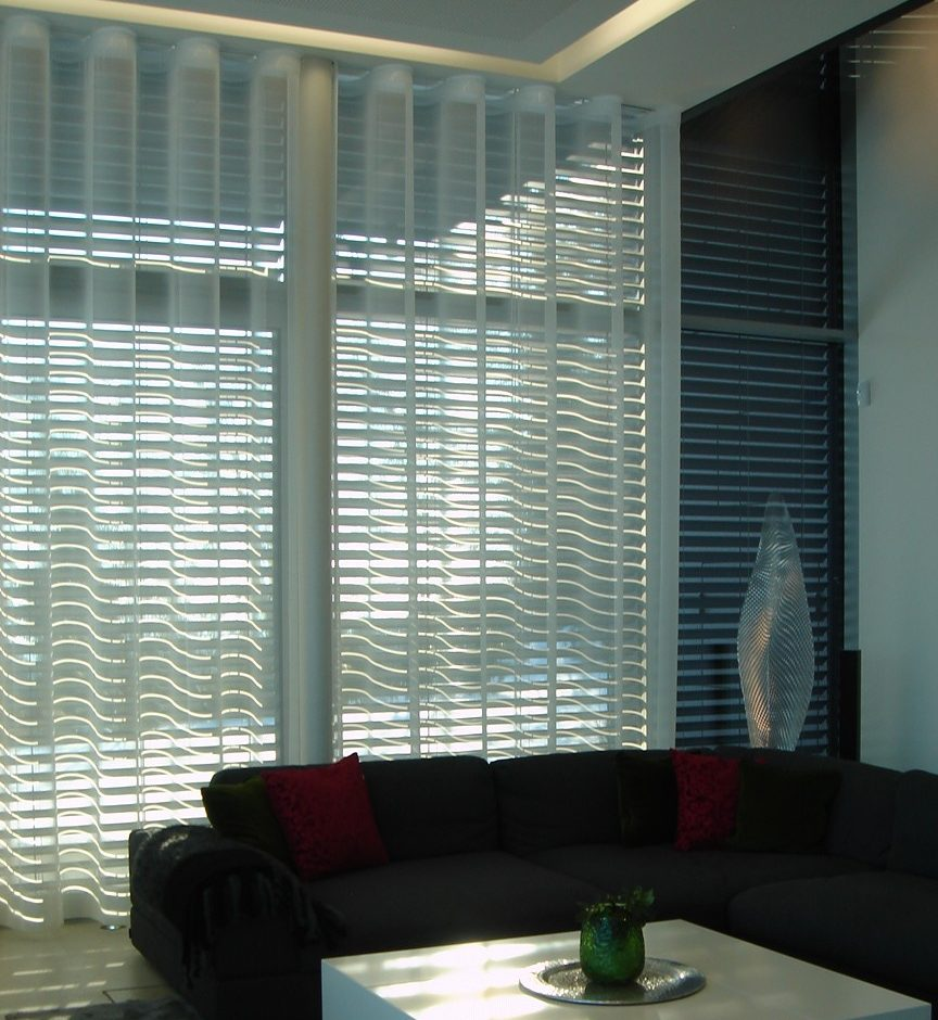 Wave Curtain System From Silent Gliss
